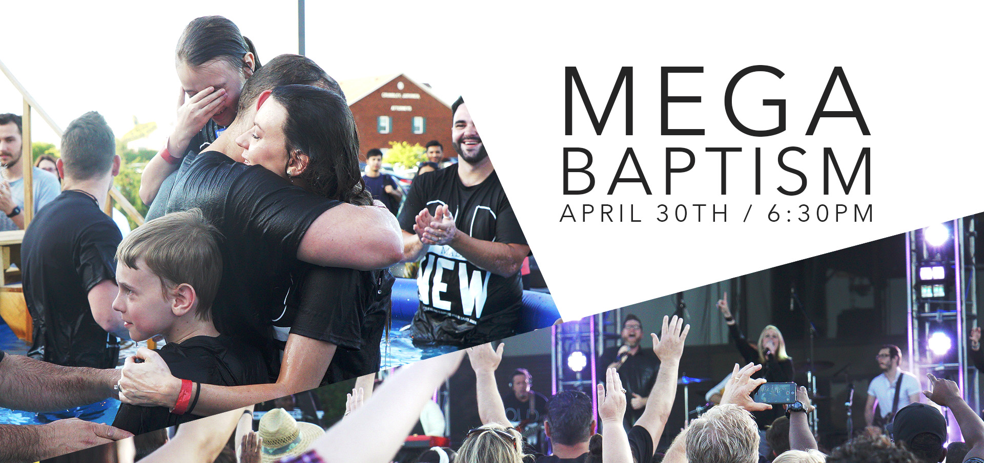 Mega Baptism – with button