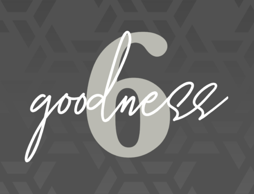 Day Six: Goodness